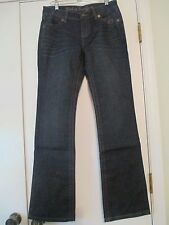 Brand New Ladies Harley Davidson Cotton Blue Jeans Boot Cut Size 8