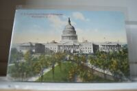 C 1912 US Capitol From Library Of Congress - Washington DC Postcard