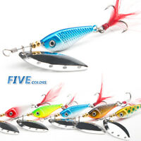 13g 16g Spinner Spoon Metal Bait Fishing Lure Sequins Crankbait Baits Bass Trout