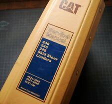CAT Caterpillar 236 246 248 Skid Steer Loader Repair Shop Service Manual owners