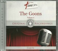 THE GOONS VOLUME 4 COMEDY CD - ORIGINAL RECORDINGS