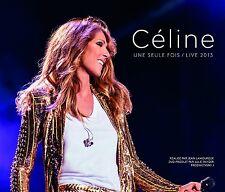 CÉLINE DION - CÉLINE...UNE SEULE FOIS/LIVE 2013 2CD + BLU-RAY BOX SET NEU