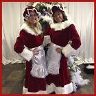 Miss Santa Claus costume deluxe velvet