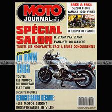MOTO JOURNAL N°1014 HÄGGLUND SUZUKI GSX 1100 G YAMAHA 1200 VMAX ★ SALON 1991 ★