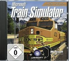 Microsoft train simulator-pc cd-rom-Neuf & immédiatement