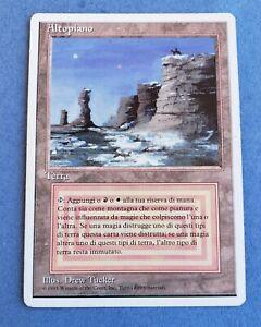 Magic The Gathering MTG Italian Plateau Iltopiano Revised rare duel lands