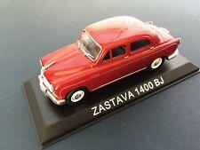 ZASTAVA 1400 BJ (FIAT 1400) - 1:43 DIECAST MODELL AUTO CAR USSR BA65