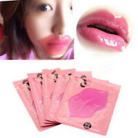 5/10x Pink Crystal Collagen Lip Mask Patch Anti Ageing Wrinkle Moisturising Hot~