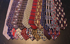 Lot of 20 NEW Designer Neck Ties with Various Patterns L032