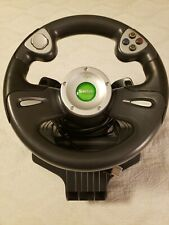 Saitek Microsoft Xbox Original Adrenalin Steering Wheel Racing Game Car