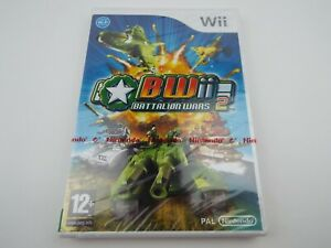 Battalion Wars 2 Nintendo Wii Game NEW (Damaged Case)