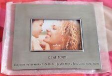 BNWB HALLMARK Silver Gift Cast Aluminum Photo Frame Birthday Mothers Gift