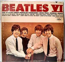 1965 The Beatles VI VG+ US Vinyl LP Record Album