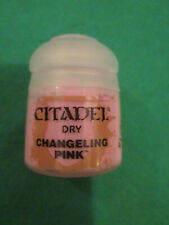 CHANGELING PINK - WARHAMMER CITADEL PAINT 12ML POT - DRY - NEW