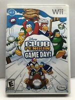 Club Penguin: Game Day! - Nintendo Wii - Complete w/ Manual - Tested - Free Ship