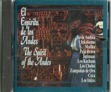 El Espíritu De Los Andes The Spirit Of The Andes  Latin Music CD