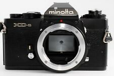 [Exc+++++] Minolta XD-S Body Black 35mm SLR Film Camera From Japan #0223