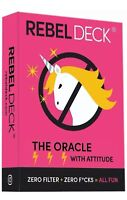 Rebel Deck-The Oracle With Attitude (60 Cards) Card Game--Free Shipping From USA