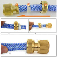 CG_ KF_ KD_ Garden Irrigation Brass Water Hose Pipe Quick Connector Tap Fitting