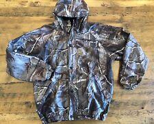 RedHead Realtree Hunting Jacket Coat Mens Medium Hooded Camouflage Print Lined
