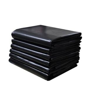 100 Count Heavy Duty Trash Bags 33 Gallons, 1.5mil. 33x39 Inch