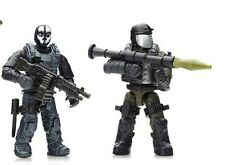 MEGA BLOKS CALL OF DUTY COVERT OPS CNF14 MINIFIGURE # 4 & 5 With Accessories!!