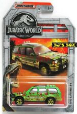 Matchbox 2018 Jurassic World '93 FORD EXPLORER #4 (#15 of 18) Green 4x4 New