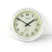 Vintage orologio design modernariato Guzzini nero bianco Italy