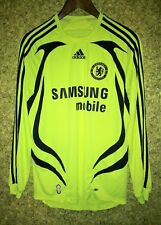 CHELSEA LONDON 2007/2008 AWAY FOOTBALL SOCCER SHIRT JERSEY LONG SLEEVE SIZE S