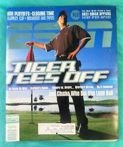 1999 Tiger Woods ESPN Magazine June 14 - 06/14/99 - Tiger Tees Off