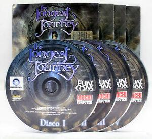 THE LONGEST JOURNEY EDIZIONE ITALIANA GIOCO PC CD ROM EDITORIALE VBC 74800