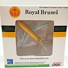 500 Inflight Royal Brunei Airlines Diecast 1:500 Plane Witty Wings 1985 Colors