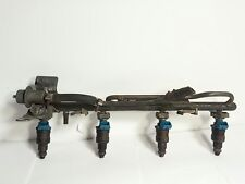 1991-1994 VOLVO 940 FUEL RAIL WITH 4-SETS OF INJECTORS & FUEL PRESSURE REGULATOR