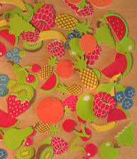 FRUITS foam stickers, Food, scrapbooking,  cardmaking, kids crafts