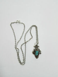 Pendant Silver Jewelry For Woman Egyptian Style