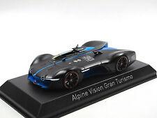 Norev 517847 - 2015 Alpine Vision Gran Turismo - Matt Black/Blue - 1:43 NEU!!!