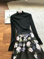 New Ted Baker women Nerida Opal Print Full Skirt Midi Dress ,SIZE 3,4,5