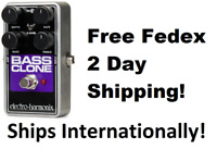 New Electro-Harmonix EHX Bass Clone Bass Chorus Effects Pedal