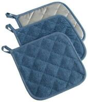 DII 100% Cotton, Quilted Terry Oven Set Machine Washable, Heat Resistant with