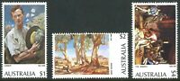 Australia 1974 MNH Famous Painters Stamp Series Set of [$1+$2+$4] variety issues