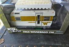 "GREENLIGHT 1964 GOLD/WHITE WINNEBAGO 216 ""GREENLIGHT CHASE"" 1:24TH SCALE DIECAST"