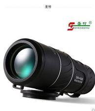 Hot 20x52 Dual Focus Zoom Verde lente óptica blindaje viajes Telescopio Monocular