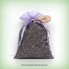 Le Chatelard - Lavendelblüten in Orgazabeutel - Lavendelsäckchen  35 g