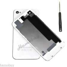 New Glass Replacement Back Rear Battery Cover for Apple iPhone 4 4S 4G