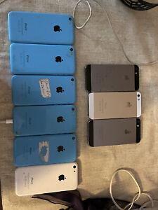 Apple iPhone 5c - 8GB - Blue (Unlocked) A1456 (CDMA + GSM)