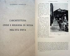 SICILIA ARCHITETTURA CON ILLUSTRAZIONI