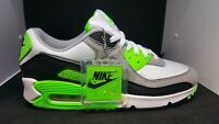 Nike Mens Air Max 90 Running Lime White shoes CW5458-100