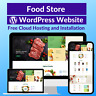 Food Store Amazon Business Affiliate Store Website Free Installation + Hosting