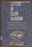 1958 Letters Of Ellen Glasgow Selected & Edited by Blair Rouse (HC/DJ 1st Ed.)