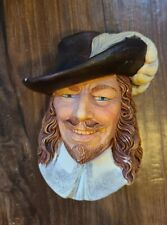 Vintage 1985 Cavalier By Legend Products Chalk Ware Head Signed F Wright